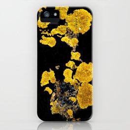 Yellow Lichen iPhone Case