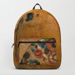 """Odilon Redon """"The Gothic Window"""" Backpack"""