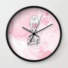 La belle chouette Wall Clock