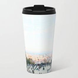 People at Park Güell Travel Mug