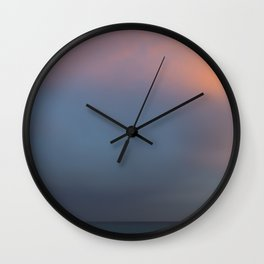 Colours of Sunset Wall Clock