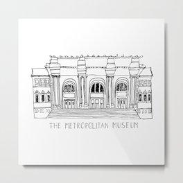 The Metropolitan Museum  Metal Print