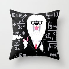 Albert Sheepdog Throw Pillow