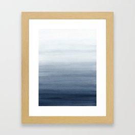 Ocean Watercolor Painting No.2 Gerahmter Kunstdruck