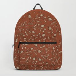 Thistle in Autumn Backpack