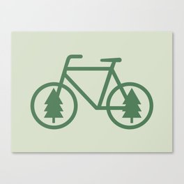 Pacific Northwest Cycling - Bike, Bicycle, Portland, PDX, Seattle, Washington, Oregon, Portlandia Canvas Print