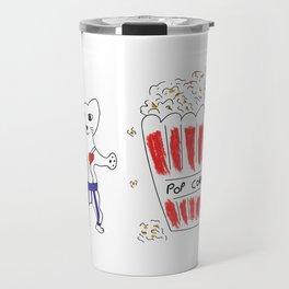Poppin heart Travel Mug