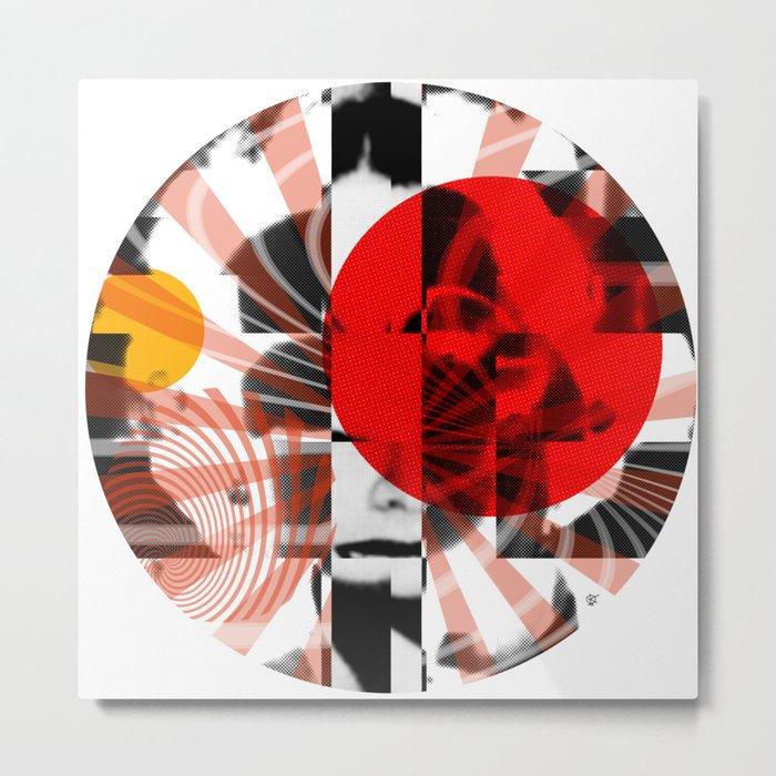 DivenMixUp 5 · Crop Circle Metal Print