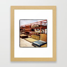 storage  Framed Art Print