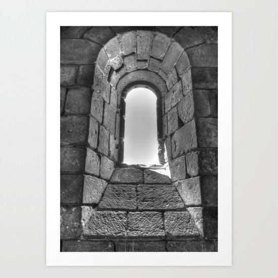 Medieval Window Art Print