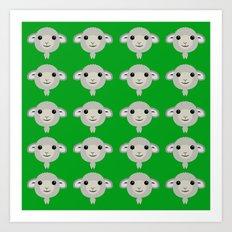 Basic Sheep - 3 Art Print