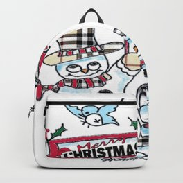 Holly Jolly Christmas Backpack