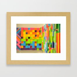 Wall Scape Framed Art Print