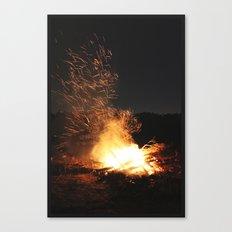 Fire Dance Canvas Print