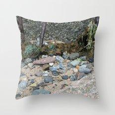 Barnicles Throw Pillow