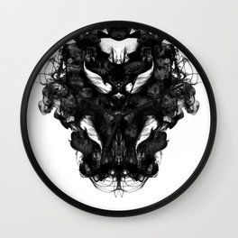 """Now, tell me what you see."" Wall Clock"