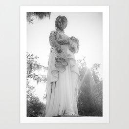 Savannah Ghost Art Print