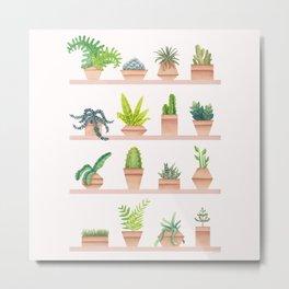 Green Thumb Metal Print