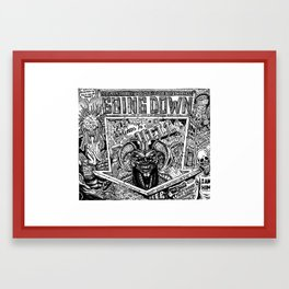 Hell Framed Art Print