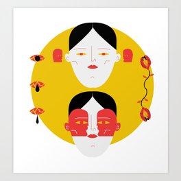 listen&see Art Print