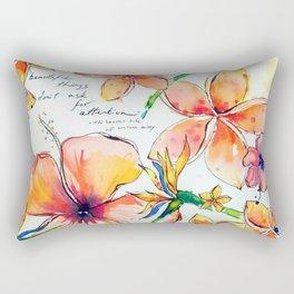 Beautiful tropical things Rectangular Pillow