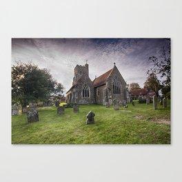 All Saints Wittersham Canvas Print