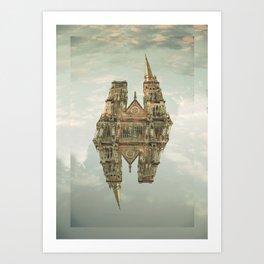 floating building Art Print