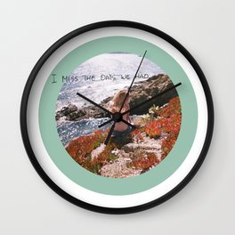 let's be free Wall Clock