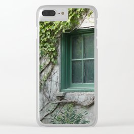 Botanical Embrace Clear iPhone Case