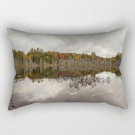 a pond Rectangular Pillow