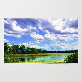Lake Wingra, Wisconsin Rug