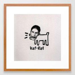 Kafterrier Framed Art Print