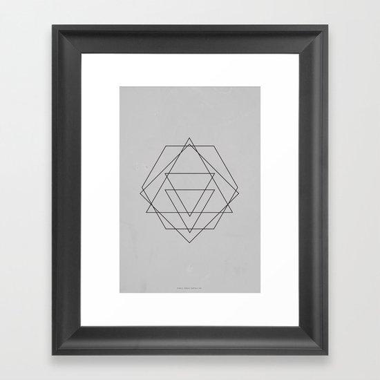 Geometric No.2 Framed Art Print
