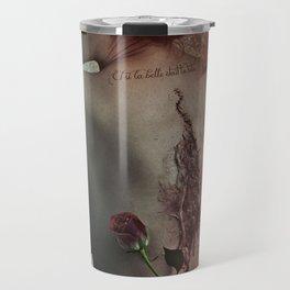 Melancholic Poet - If the beauty was the beast Travel Mug