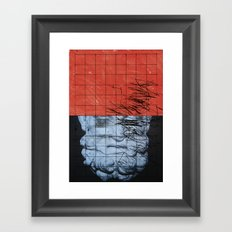 MISMEASURE IX Framed Art Print