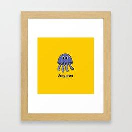 Jelly Fish Framed Art Print