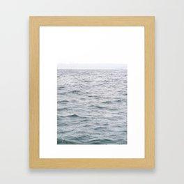 Raining Grays Framed Art Print