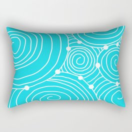 swirls Rectangular Pillow