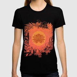 Lotus Flower of Life Meditation  Art T-shirt