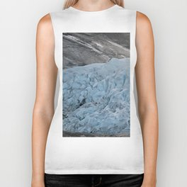 Blue Ice Glacier range in Norway - Landscape Photography Biker Tank