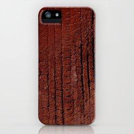 tire tracks in mud! fun!! iPhone Case