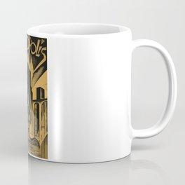 Metropolis, Fritz Lang, 19, vintage movie poster Coffee Mug