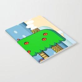 Super Mario World Yoshi House | Poster Notebook