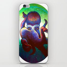 """HectaaA""Alien earth-like creature iPhone Skin"