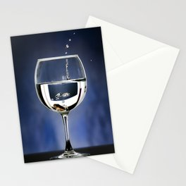 A penny in a glass Stationery Cards
