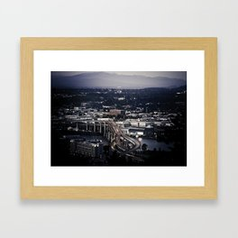 """ Portland "" - Print Framed Art Print"