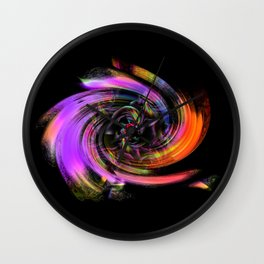 Flowers magic roses 7 Wall Clock