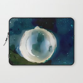 Ice Bubble Nebula. Laptop Sleeve