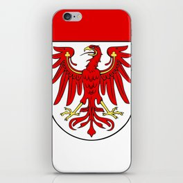Flag of brandenburg iPhone Skin