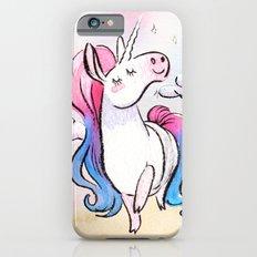 Chubby Unicorn: Pink & Blue iPhone 6s Slim Case